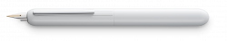 LAMY dialog 3 pianowhite Pt fountain pen M